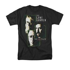 X FILES LONE GUNMEN Officially Licensed Men's Graphic Tee Shirt SM-5XL