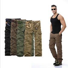 2016 New Army Cargo Camo Combat Military Mens Trousers Camouflage Pants Casual