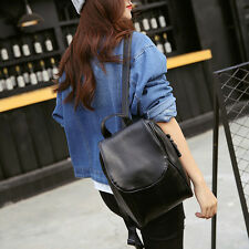 Hot! Women Girls Backpack Leather Rucksack Shoulder Bags Travel School Book Bag