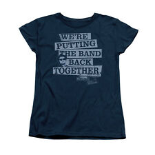 BLUES BROTHERS BAND BACK Licensed Women's Graphic Tee Shirt SM-2XL
