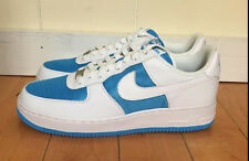 NIKE AIR FORCE 1 LOW VIVID BLUE WHITE WOMEN'S WMNS SZ 10-12  315115-413