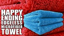 6x Chemical Guys Happy Ending Edgeless Tagless Microfiber Towel 16X16 MIC_351