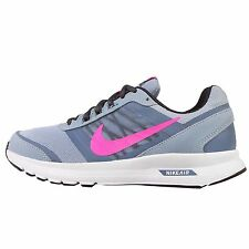 Wmns Nike Air Relentless 5 MSL Blue Grey Pink Womens Running Shoes 807099-401