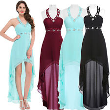Chiffon Bridesmaid Cocktail Party Dress Formal Evening Summer Beach Prom Dresses