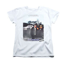 BLUES BROTHERS DISTRESSED POSTER Licensed Women's Graphic Tee Shirt SM-2XL