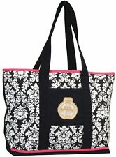 Equine Couture Damask Large TOTE Bag