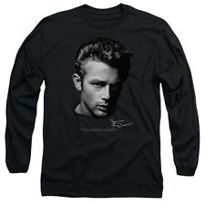 JAMES DEAN PORTRAIT Licensed Men's Long Sleeve Graphic Tee Shirt SM-3XL