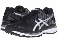 NIB Women's Asics Gel Nimbus 18 Running Shoes Choose Size BlkSilvWht