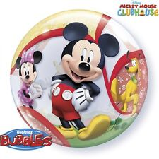 """""""MICKEY MOUSE CLUBHOUSE""""     Mickey Mouse 56cm Bubble Balloon!"""