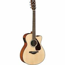 Yamaha FSX800C Small Body Acoustic-Electric Guitar Natural