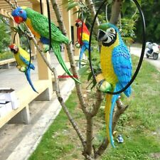 Fake Artificial Parrot Bird Realistic Home Decor Parakeet Taxidermy Budgie 33cm
