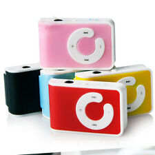 Mini 5 Colors Clip USB MP3 Music Player Support 1-16GB SD TF Card Free Shipping