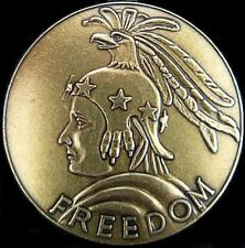 GENUINE WW2 UNITED STATES MEDAL OF FREEDOM FOR SERVICE IN WAR              (0)