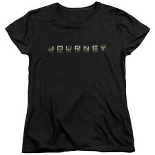 JOURNEY REPEAT LOGO Licensed Women's Graphic Band Tee Shirt SM-2XL