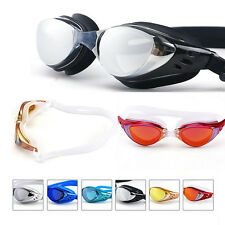 Adjustable Ultralight Anti-Fog Anti-UV Swim Glasses HD Swimming Goggles Adult