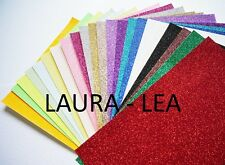Glitter Card A4 -  Quantity 50 sheets comes in 28 colours