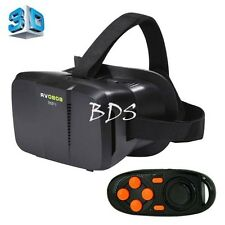 """BOBO II Virtual Reality 3D Glasses with Bluetooth RC for 4"""" to 6"""" Smartphones"""
