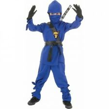 Blue Ninja Child Halloween Costume. Free Shipping