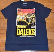 Doctor Who Daleks Adult T-Shirt Officially Licensed Merchandise Dr. Who Tee