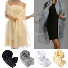 New!! Fashion Stylish Women Long Soft Organza Scarf Wrap Shawl Scarves