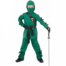 Green Ninja Child Halloween Costume. Brand New