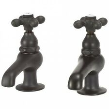 Elizabethan Classics Bathroom Faucet Set with Metal Cross Handles. Delivery is F