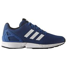 Adidas Zx Flux Blue White Youths Trainers