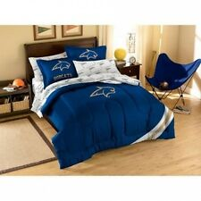 NCAA Applique Bedding Comforter Set with Sheets, Montana State. Huge Saving