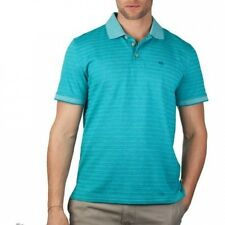 Palm Beach Men's Jacquard Short Sleeve Polo. Brand New