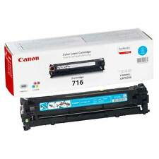 GENUINE CANON 716C (1979B002AA) CYAN LASER PRINTER TONER CARTRIDGE