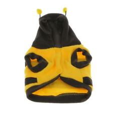 Cute Small Toy Dog Puppy Pet Cat Hoodie Clothes Bee Costume Jacket Coat Clothing