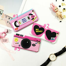 Cute Fashion pink tape rubber soft case skin cover for Apple iphone6 6s plus