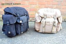 Military Canvas Rucksack / Backpack / Day Sack 35Litre Vintage German Army Style