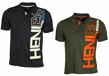BNWT MENS POLO TSHIRT SHORT SLEEVE HENLEYS NAVY CHARCOAL DESIGNER TEE S-2XL