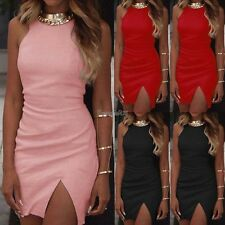 Sexy Women Summer Bandage Slim Bodycon Evening Party Cocktail Short Mini Dress