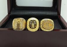 3PCS 1960 1979 1986 Montreal Canadiens Stanley Cup Championship Rings Solid Gift