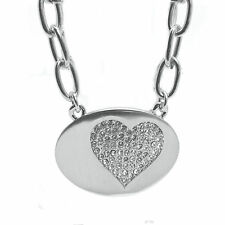 Crystal  Heart Pave  Choker  Necklace featuring Crystals Made by SWAROVSKI®