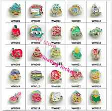 10pcs Mix Style Fruit Baby Floating Charms for Glass Living Memory Locket
