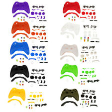 Full Housing Shell Case Button Kit Replacement for Xbox 360 Game Controller