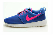 Nike Grade School Roshe One Hyper Cobalt pink university blue casuals 599729-403