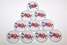 Bride Tribe Arrow In Heart Pins Bachelorette Party Favors Pin Buttons - 10 Pack