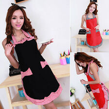 Women Lovely Kitchen Flirty Apron With Pockets Mother's Day Gift Modern Cool