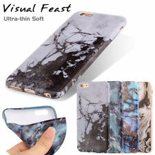 New Marble Texture Visual Slim Soft Back Phone Case Cover For iPhone 6s 6 Plus
