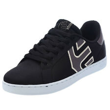 Etnies Mens Fader Ls Black Textile Shoes