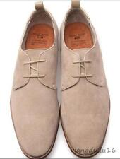 Vintage Mens lace up Loafer Casual dress oxford Suede Leather Shoes Sz 9-10.5