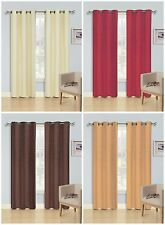1 PC JACQUARD BLACKOUT WINDOW CURTAIN PANEL, LINED THERMAL, 54x84, VALENTINA