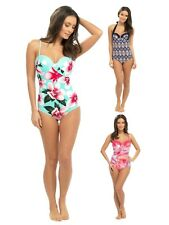 Womens Swimming Costume Underwired Swimsuit Backless All In One Ladies Size