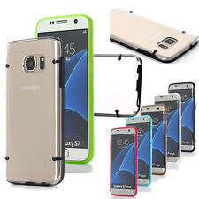 Ultra-Thin Hybrid Transparent Clear Case Cover Skin Fr Samsung Galaxy S7/S7 Edge