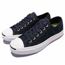 Converse Jack Purcell Signature Navy Mens Womens Canvas Casual Shoes 151484C