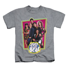 Saved By The Bell Boys' Saved Cast Childrens T-shirt Heather Rockabilia